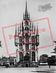 Stadhuis c.1930, Gouda