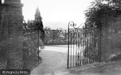 Goudhurst, A Garden Vista c.1960