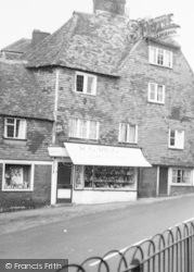 Goudhurst, A Village Shop c.1960