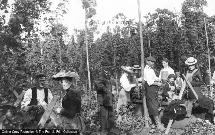 Photo of Goudhurst, Hop Pickers 1904