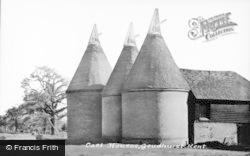 Goudhurst, Oast Houses c.1960