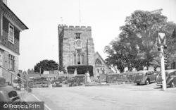 Goudhurst, St Mary's Church c.1955