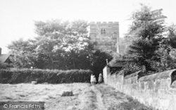 Goudhurst, St Mary's Church From The Hayfield c.1960
