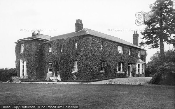 Photo of Goudhurst, Tattlebury House 1904