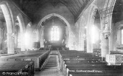 Goudhurst, The Church Interior 1901
