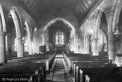 The Church Interior 1902, Goudhurst
