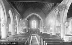 Goudhurst, The Church Interior 1925