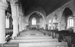 Goudhurst, The Church Interior c.1960