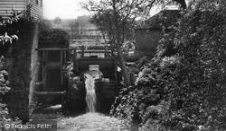 The Old Mill Wheel c.1960, Goudhurst