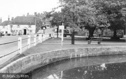Goudhurst, The Pond And Plain c.1960