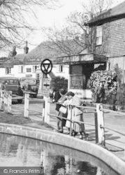 Goudhurst, The Pond c.1955