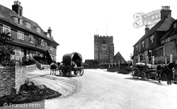 The Village And St Mary's Church 1901, Goudhurst