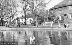 Goudhurst, The Village Pond c.1955