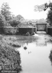 Goudhurst, The Weir c.1960