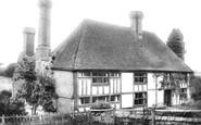 Goudhurst, Twissenden Manor 1904