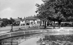 Village From Hughenden Guest House c.1955, Goudhurst