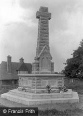 Goudhurst, War Memorial 1925