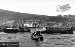 The Harbour c.1935, Gourdon