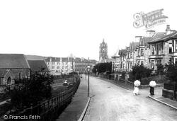Gourock, Barrhill Road 1900