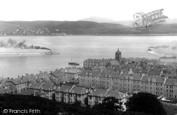 Gourock, From Tower Hill 1900