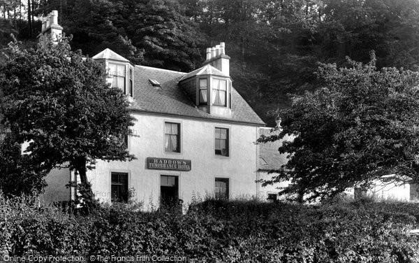 Gourock, Haddow's Temperance Hotel 1900