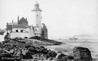 Gourock, the Cloch Lighthouse 1900