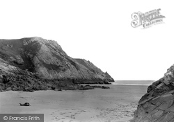 Gower, Pobbles Bay 1936