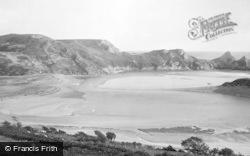 Gower, Three Cliffs Bay 1893
