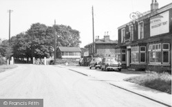 Goxhill, Brocklesby Hunt And Post Office c.1955