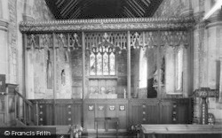 Goxhill, The Church Interior c.1960