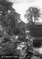 Goyt Valley, Stepping Stones 1914