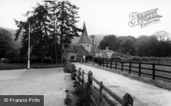 Graffham, Church Of St Giles c.1960