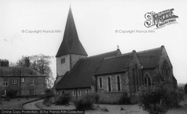 Photo of Graffham, Church Of St Giles c.1965