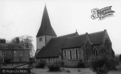 Graffham, Church Of St Giles c.1965