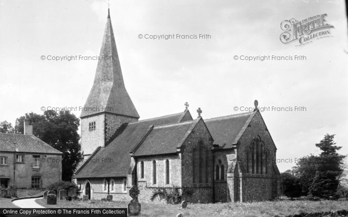 Photo of Graffham, St Giles Church c.1955