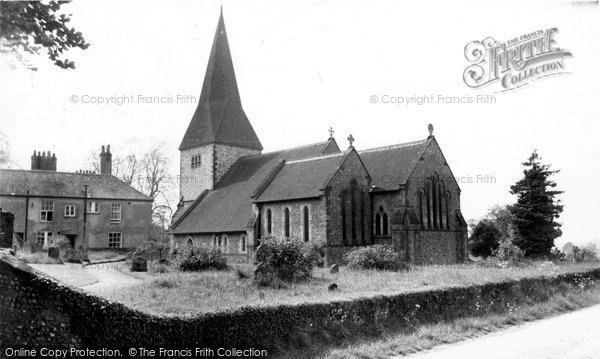 Photo of Graffham, St Giles Church c.1960