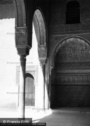 The Alhambra, Court Of The Myrtles 1960, Granada