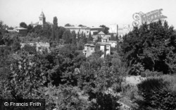 The Alhambra From Generalife Gardens 1960, Granada