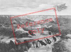 Cloud Shadows On The Canyon c.1930, Grand Canyon