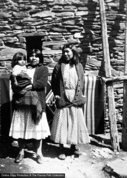 Photo of Grand Canyon, Girls Of The Hopi Tribe 1936