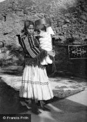 Hopi Mother And Baby 1936, Grand Canyon
