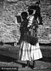 Hopi Mother And Baby c.1936, Grand Canyon