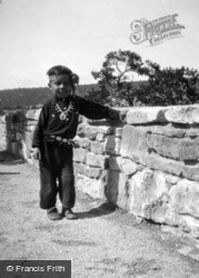 Native American Boy c.1935, Grand Canyon