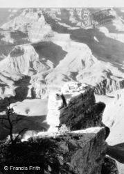 North From Near Yaki Point c.1930, Grand Canyon
