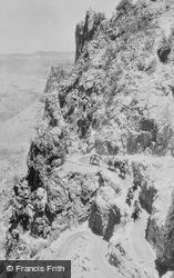 On Bright Angel Trail c.1930, Grand Canyon