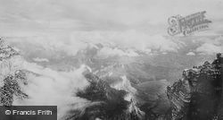 Storm Breaking Up c.1935, Grand Canyon