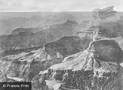 Sunset From Hopi Point c.1930, Grand Canyon