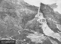 The Towering Cliffs Above Hermit Creek Cabins c.1930, Grand Canyon