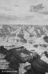 View From El Tovar c.1930, Grand Canyon