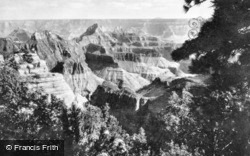View From North Rim c.1930, Grand Canyon
